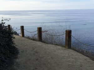 Coast trail Old Historical La Jolla