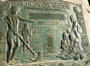 Kumeyaah Nation Plaque La Jolla Shores Beach