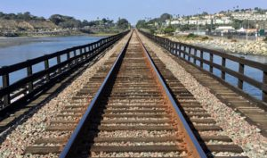 Railroad Tracks San Dieguito River Trail