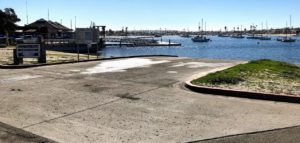 Santa Clara Point Launch Ramp Mission Bay Park