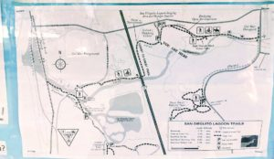 Trails map San Dieguito River Trail