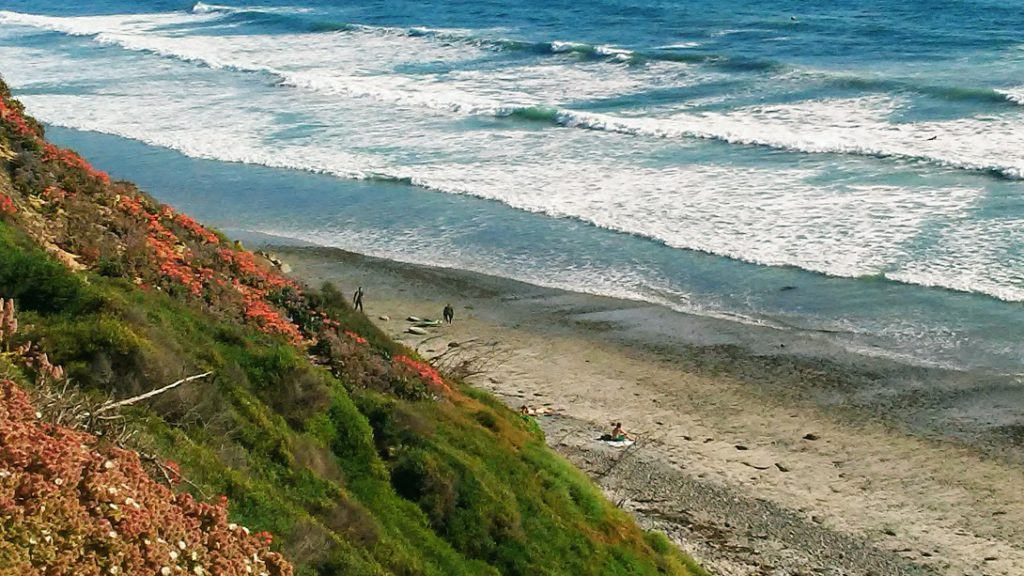 Beacons beach 1 best surfing beaches in San Diego