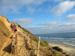 Beacons Beach Switchback north Encinitas surf break
