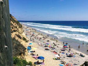 D Street beach best surfing beaches in San Diego
