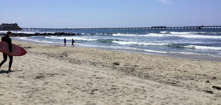 Ocean Beach City Beach 2 Best San Diego Beaches