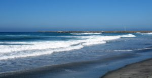 Oceanside Harbor Beach 2014 jetty beach waves