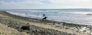 Old Mans Beach Surfing rocky shore ocean
