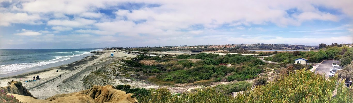 South Ponto Panoramic Best San Diego Beaches