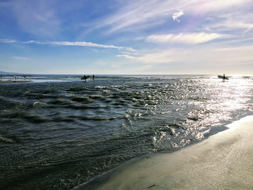 Suckouts Surf break San elijo lagoon inlet