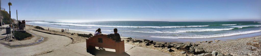 Tourmaline Surfing Park Panoramic Pacific Beach