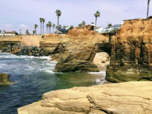 Beginning Sunset Cliffs best San Diego Hikes