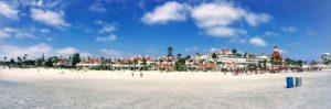 Hotel del Coronado Panoramic Coronado Beach