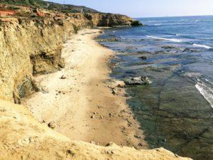 No surf beach sunset cliffs natural park linear trail