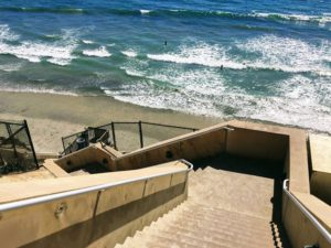 Stone Steps Beach Stairs San Diego Best Hikes