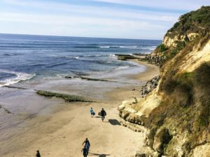 Swamis State beach best San Diego Hiking
