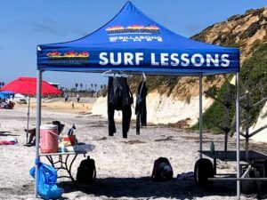 Surfin Fire Surf Camp South Ponto Beach