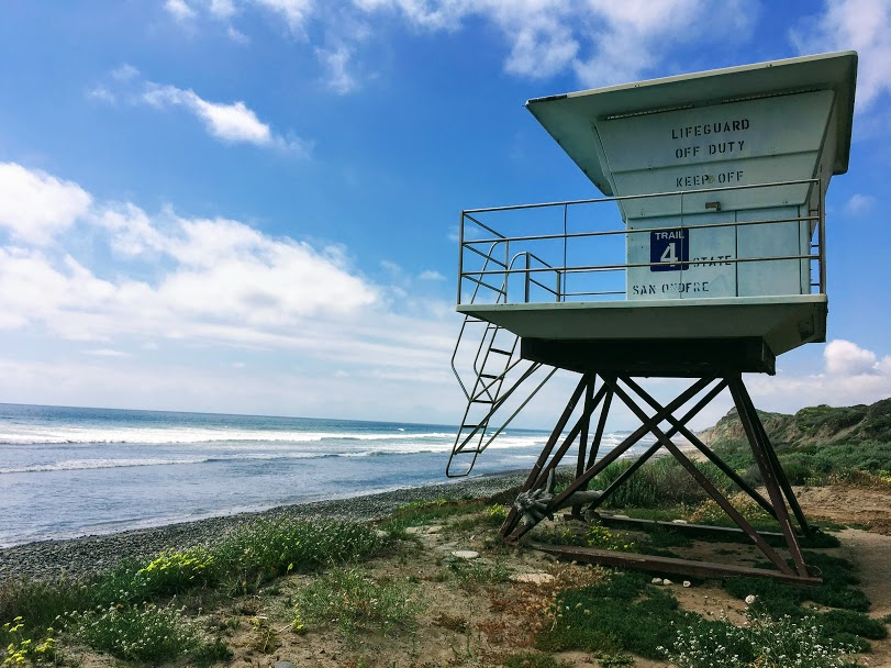 Trail Four Lifeguard Tower San Onofre State Beach