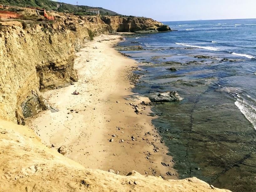 beach bluff sunset cliffs natural linear park