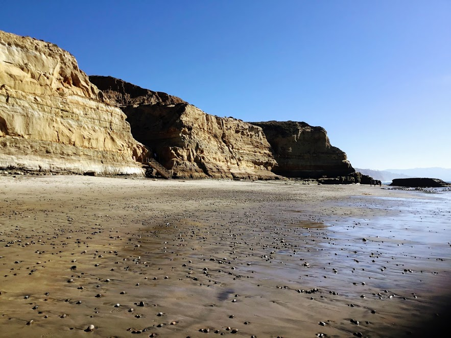 Flat Rock Beach Torrey Pines State Beach