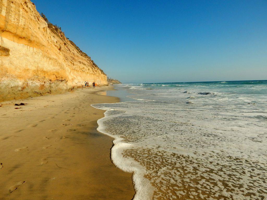 South Carlsbad beach san diego beaches
