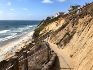 beacons switchback trail encinitas bluff walkway