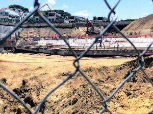 encinitas beach hotel construction august 2019