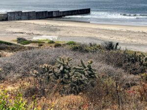 Mexico US border san diego california