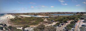 south ponto beach panoramic august
