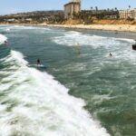 Surfing Crystal Pier sept 4 2019