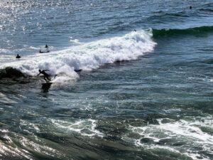 surfing oceanside pier san diego summer