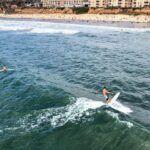 Surfing Pacific Beach San Diego Summer