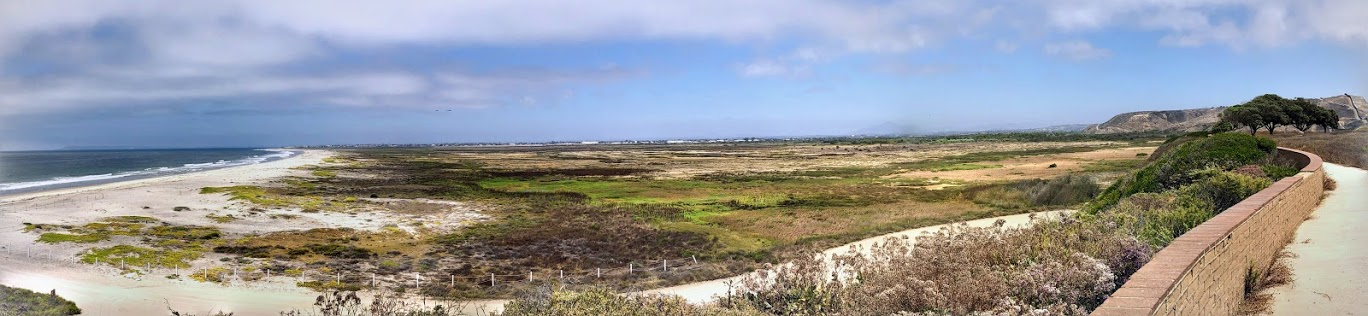Tijuana River Valley Regional Park Panoramic