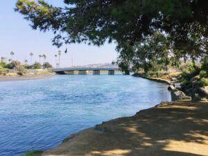 Riverpath Trail east view San Dieguito Lagoon Del Mar