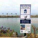 Hubbs trailhead agua hedionda lagoon west