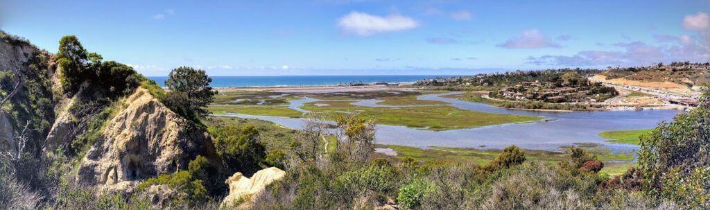 San Elijo Lagoon panoramic