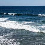 Surfing Grandview Beach August 2019