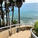 Swami's Staircase ocean trees