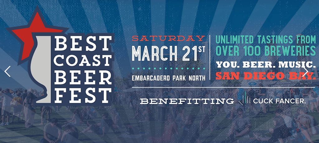 Best Coast Beer Fest San Diego March Events