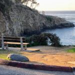 La Jolla Coast Walk Trail bench ocean view