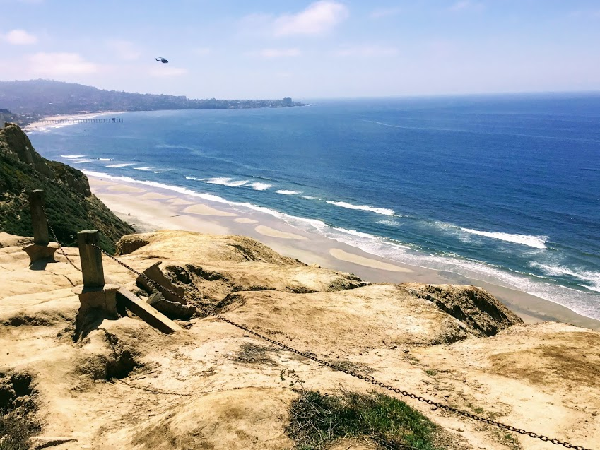 Blacks Beach Up top san diego beach closures