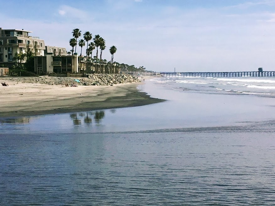 oceanside pier and beach san diego beaches closed