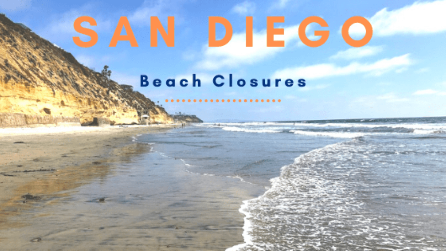 San Diego Beaches closed featured image