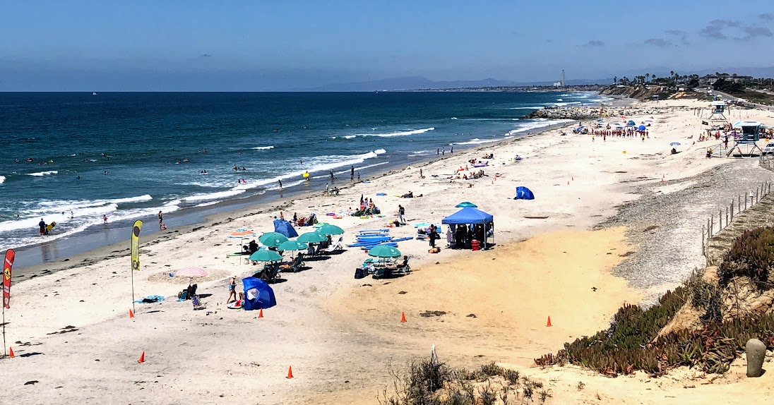 south ponto beach august 2019 san diego beaches closed