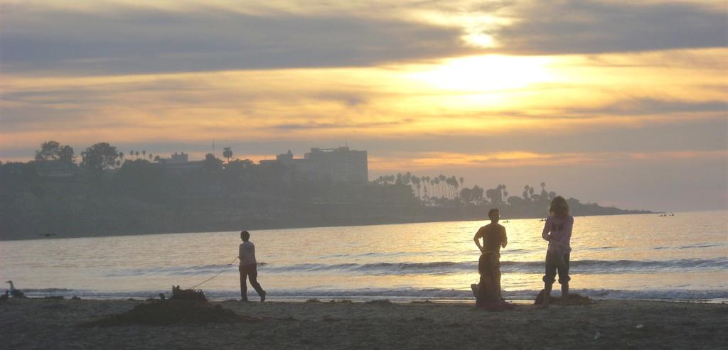 La Jolla Shores beach grunion run