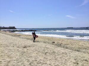 ocean beach webcam sand surf pier