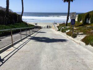 Fletcher Cove walkway solana beach