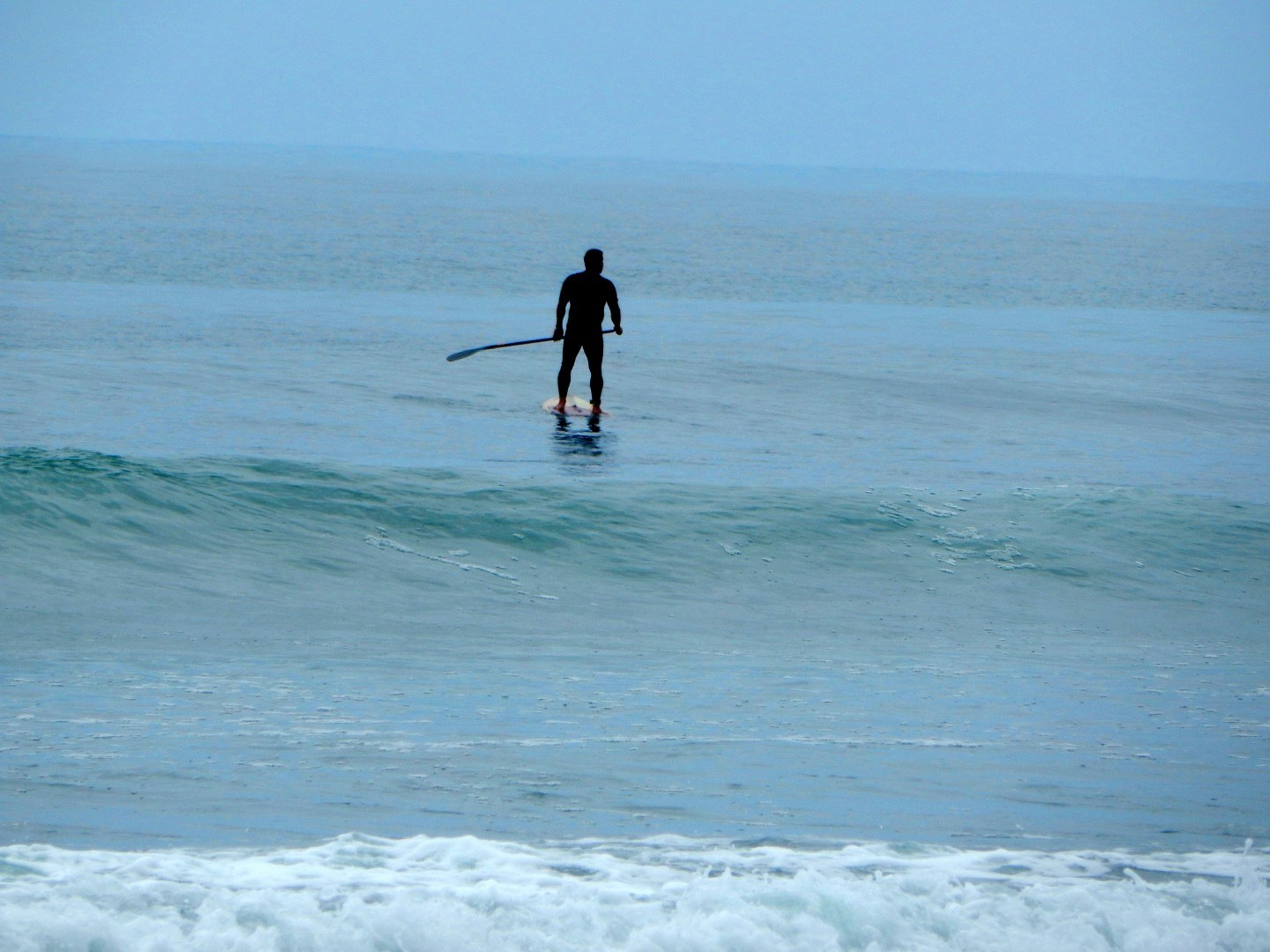 paddle boarder dogpatch san onofre state beach