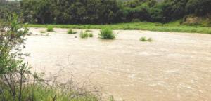 April Rain Temecula wet river