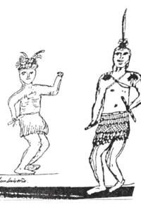 luiseno old drawing southern california native tribe