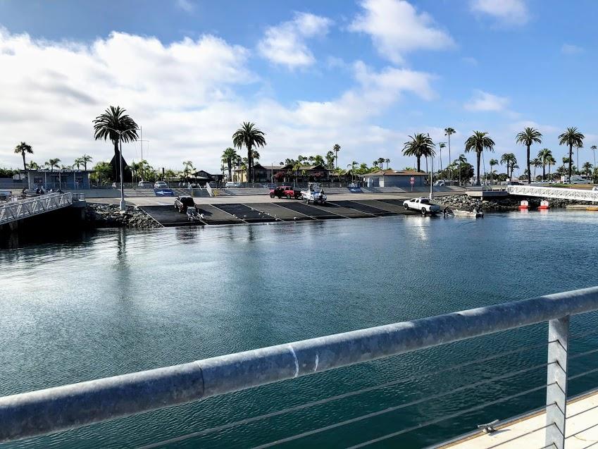 Shelter Island boat ramp June 2020